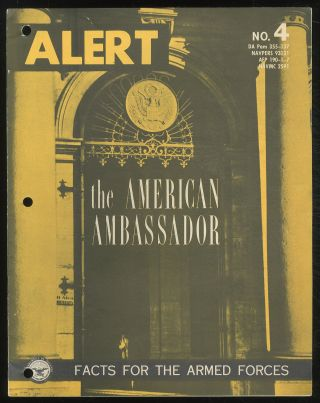 The American Ambassador: (Alert, No. 4)