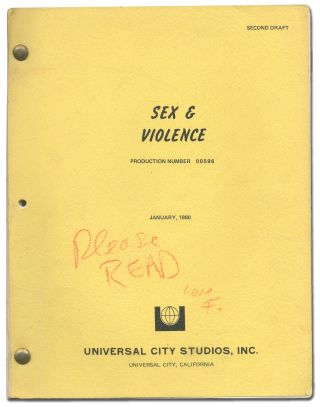 [Screenplay]: Sex and Violence ... a universal love story