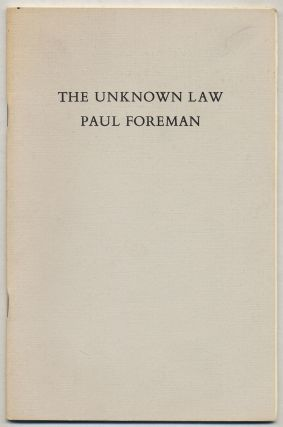 The Unknown Law
