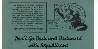 Archive of 33 Broadsides and Pamphlets Related to the 1936 Re-election of Franklin D. Roosevelt