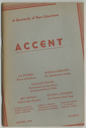Accent. Winter 1946