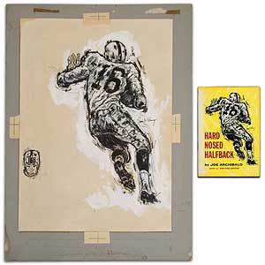 "Original Artwork]: by Francis A. Chauncy for ""Hard Nosed Halfback"" by Joe Archibald. Francis A...."