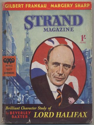 The Strand Magazine – June 1938. Carter DIXSON, Margery Sharp, E C. Bentley