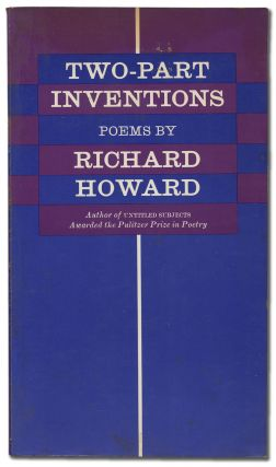 Two-Part Inventions. Poems