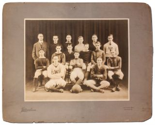 1918 West Philadelphia High School Basketball Team Photograph