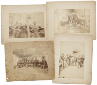 Four U.S. Infantry Photographs