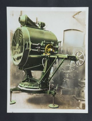 [Cover Title]: Modern Searchlights. [Interior title]: Anti-Aircraft Searchlight Equipment