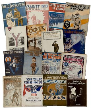 Archive]: American World War One Sheet Music