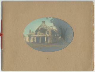 "Prospectus, caption title]: Miss Garrison's Rest Home for Nervous and Convalescent Patients...""..."
