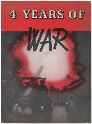 4 Years of War. Reprinted from Sept. 6, 1943 issue of Newsweek