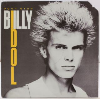 Vinyl Record]: Don't Stop. Billy Idol