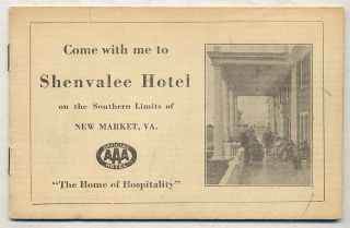 Come with me to Shenvalee Hotel on the Southern Limits of New Market, VA