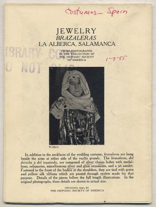 Jewelry: Brazaleras La Alberca, Salamanca: From Photographs in the Collection of The Hispanic...