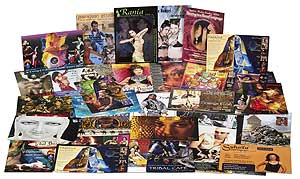 Belly Dancing Postcards