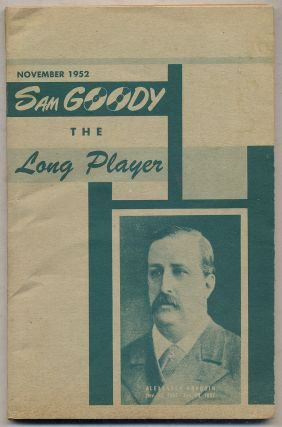 Sam Goody: The Long Player: November 1952, Volume 1, Number 5