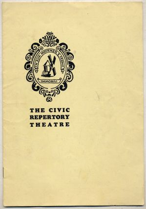 The Civic Repertory Theatre [Playbill]: Vol. IV, No. 18, 5-19-30