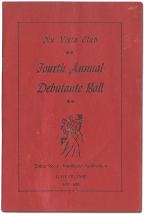 Program]: Nu Vista Club Presents Its Fourth Annual Debutante Ball