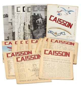 [Bi-weekly Newspapers]: Incomplete Run of Caisson (29 issues)