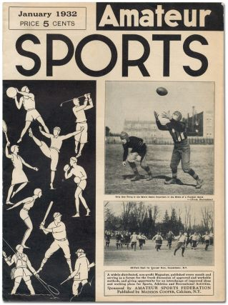 [Periodical]: Amateur Sports. Vol 1, No. 1-2