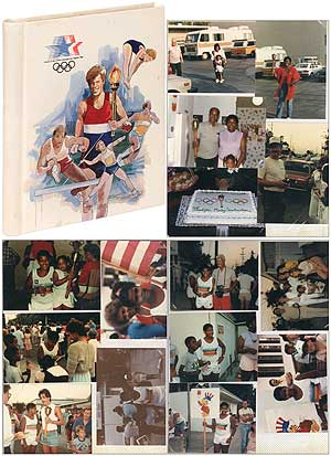 [Photo Album]: Original Photographs of a Young African-American Boy who was a 1984 Olympic Torchbearer