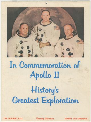 Calendar]: In Commemoration of Apollo 11: History's Greatest Exploration