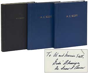 Archive]: Three Bound Volumes of Lectures, Lesson Discussions and Minutes of: The Great White...
