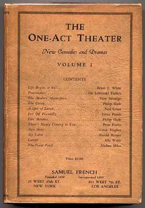 The One-Act Theater: New Comedies and Dramas, Volume I
