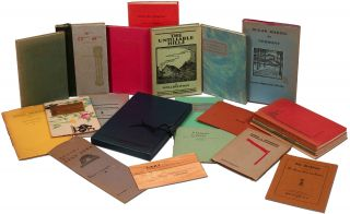 The Driftwind Press of Vermont: A Collection of Books, Pamphlets, and Near-Complete Run of Driftwind Magazine
