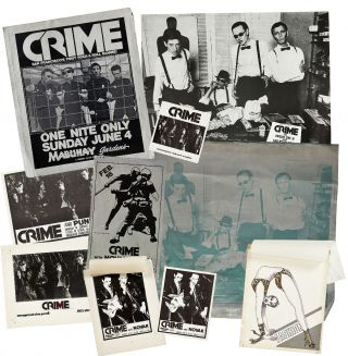 "Punk Flyers]: Archive of Material for the First West Coast Punk Band ""Crime"""