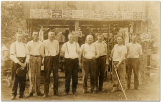 [Archive]: 18 Real Photo Postcards of the West Side Camping Club in Guard, Maryland