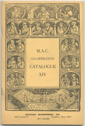 14th Co-Operative Catalogue of Members of the Middle Atlantic Chapter of the Antiquarian...