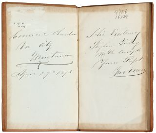 Council Journal of the Seventh Session of the Legislative Assembly, of the Territory of Montana, Begun and Held at Virginia City...