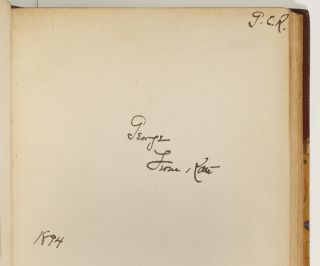 Four Volumes of Kate Douglas Wiggin Inscribed by Wiggin to her Husband George C. Riggs