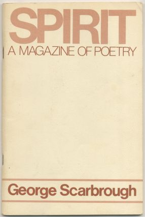 Spirit: A Magazine of Poetry
