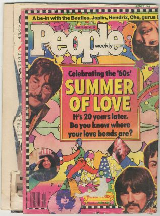 [Magazine]: People Weekly Volume 27, Number 25: Celebrating the '60s' Summer of Love - June 22, 1987