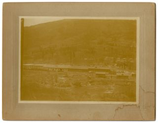 Collection of Cabinet Photographs of a Colorado Logging Camp and Vicinity