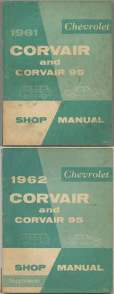 1961 Chevrolet Corvair Passenger and Commercial Vehicle Shop Manual [cover title]: 1961 Chevrolet...