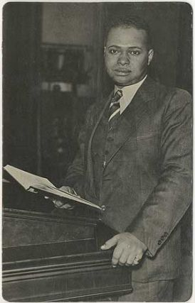 Postcard]: Poets and Heroes: Countee Cullen. Countee CULLEN