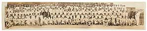 Panoramic Photograph of the Masons of the Atlantic Fleet on Their Annual Excursion to Guantanomo...