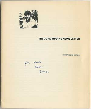 The John Updike Newsletter. Numbers 10 and 11 Double Issue