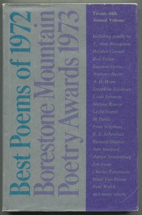 Best Poems of 1972: Borestone Mountain Poetry Awards 1973: A Compilation of Original Poetry...