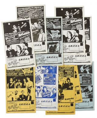 Flyers]: Dirksen - Miller Production concert flyers for the local Bay Area punk scene. NO:...
