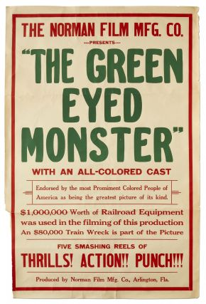 "Film Poster]: ""The Green Eyed Monster"""