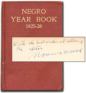 Negro Year Book: An Annual Encyclopedia of the Negro 1925-1926