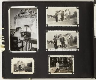 [Photo Album]: Ham Operators from Around the World 1940-1941 collected by a North Carolina Operator