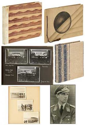 [Photo Albums]: Nazi Officer Training. Three Volumes