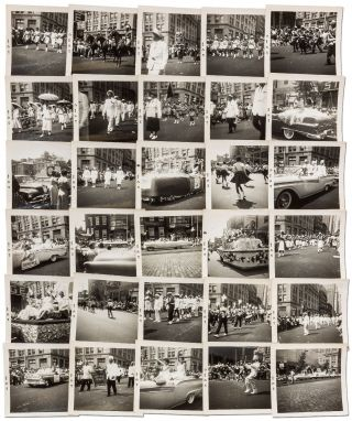 30 Photographs of the 1957 Black Elks' Parade in Philadelphia