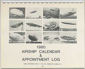 1980 Airship Calendar & Appointment Log