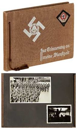 "[Photo Album]: Nazi ""R.A.D."" Reich Labor Service: ""Zur Erinnerung an Meine Dienftzeit"" [The Memory of My Tour of Duty]"