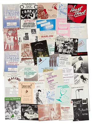 Small Collection of Invitations to themed parties at Studio 54 and other clubs 1983-1984